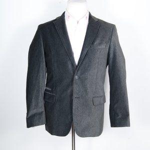 RECENT Hugo Boss Gray Velour Sportcoat
